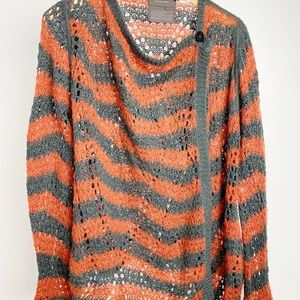 Anthropologie Guinevere Striped Sweater